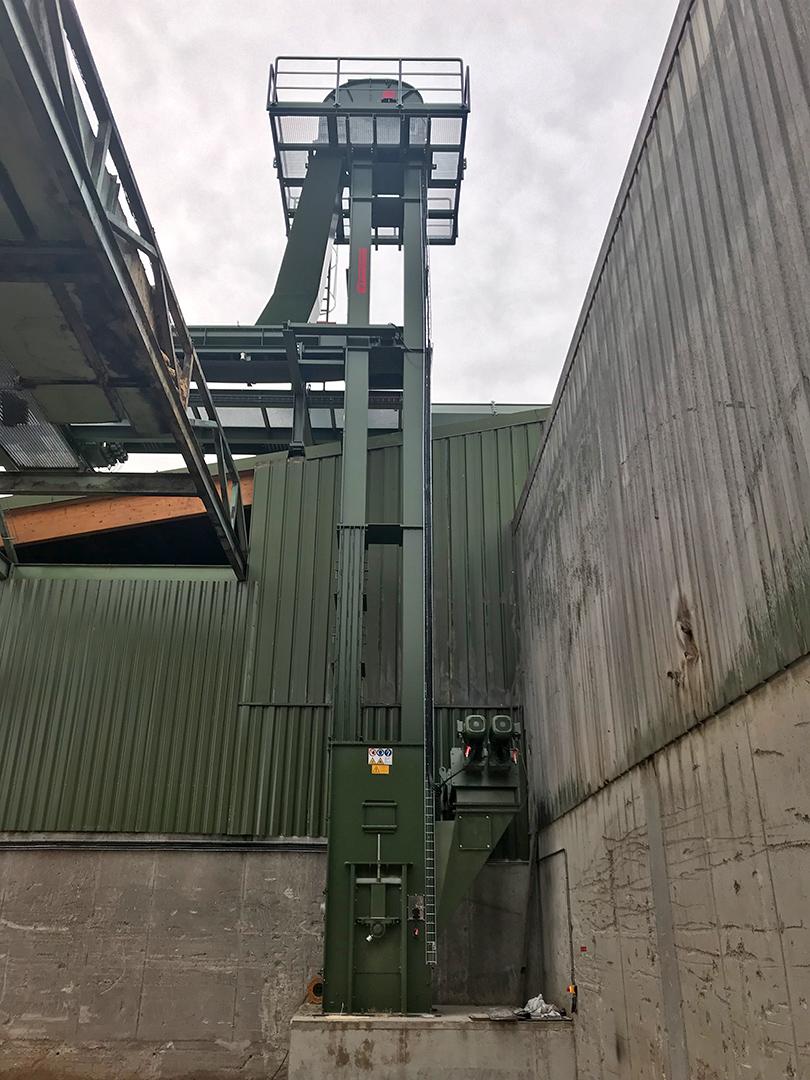 Элеватор ковшовой ленточный вертикальный изготовить конвейер